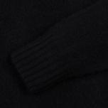 Мужской свитер YMC Brushed Crew Knit Black фото- 2