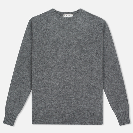 Мужской свитер YMC Brushed Crew Knit Grey