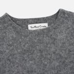 Мужской свитер YMC Brushed Crew Knit Grey фото- 1