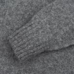 Мужской свитер YMC Brushed Crew Knit Grey фото- 2
