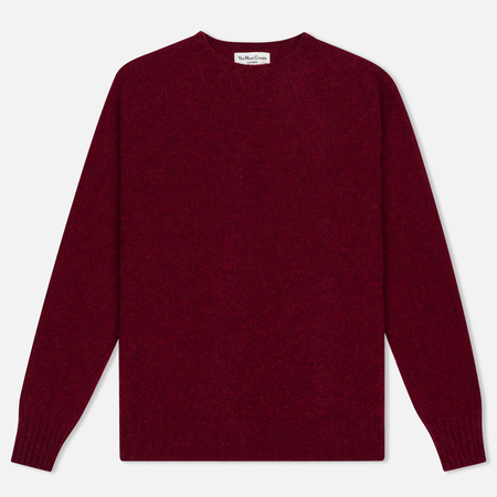 Мужской свитер YMC Brushed Crew Knit Red