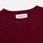 Мужской свитер YMC Brushed Crew Knit Red фото- 1