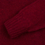 Мужской свитер YMC Brushed Crew Knit Red фото- 2