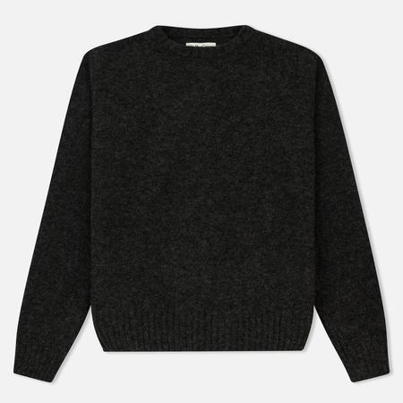Мужской свитер YMC Lydon Crew Charcoal