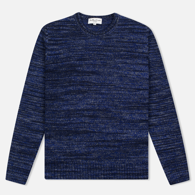 Мужской свитер YMC Wickerman Crew Blue