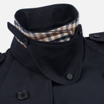 Мужской тренчкот Aquascutum Corby Double Breasted Navy фото- 3