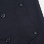 Aquascutum Corby Double Breasted Men`s Trench Coat Navy photo- 4