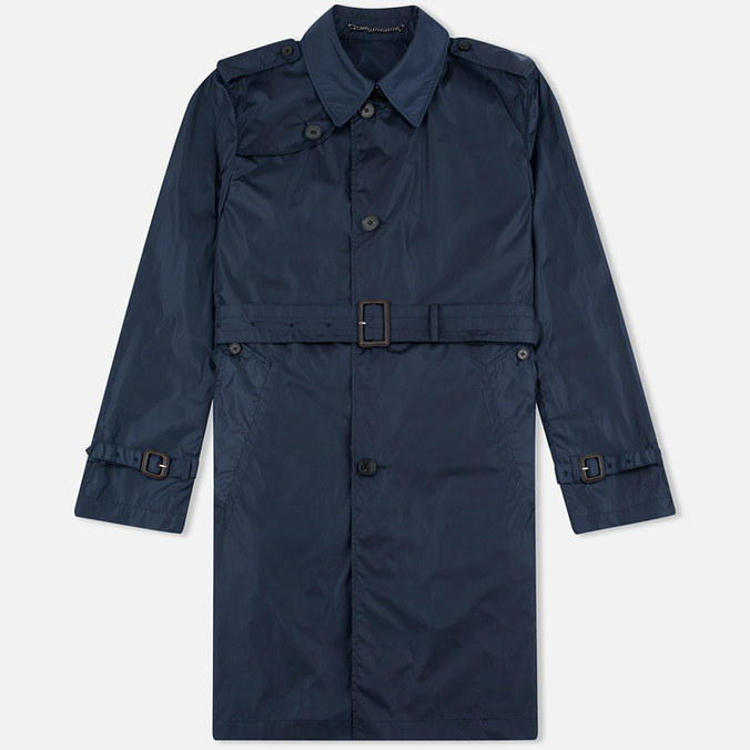 Aquascutum Voyager Pack Away Mac Men`s Trench Navy