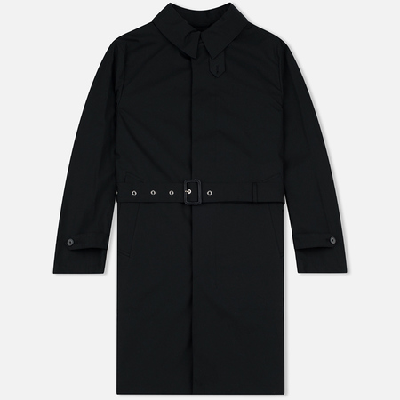 Mackintosh GM-009B Belted Single Breasted Men`s Trench Black