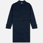 Мужской тренчкот Mackitnosh GM-012BS Sprit Raglan Sleeve Navy фото- 0