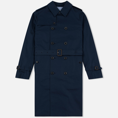 Мужской тренчкот Mackintosh GM-012BS Sprit Raglan Sleeve Navy