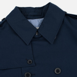 Мужской тренчкот Mackitnosh GM-012BS Sprit Raglan Sleeve Navy фото- 2