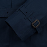 Мужской тренчкот Mackintosh GM-012BS Sprit Raglan Sleeve Navy фото- 3