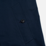 Мужской тренчкот Mackintosh GM-012BS Sprit Raglan Sleeve Navy фото- 5