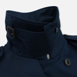 Мужской тренчкот Mackitnosh GM-012BS Sprit Raglan Sleeve Navy фото- 7