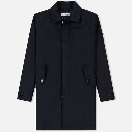 Мужской тренчкот Stone Island David-TC Primaloft Insulation Technology Navy Blue