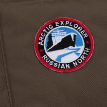 Мужской жилет Arctic Explorer Stripe Logo Cacao фото- 3