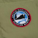 Мужской жилет Arctic Explorer Stripe Logo Olive фото- 3
