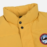 Мужской жилет Arctic Explorer Stripe Logo Yellow фото- 1