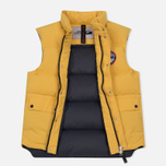 Мужской жилет Arctic Explorer Stripe Logo Yellow фото- 2