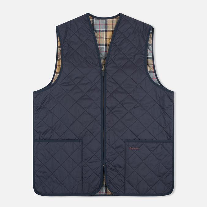 Мужской жилет Barbour Quilted Zip Navy/Dress