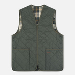 Мужской жилет Barbour Quilted Zip Olive/Ancient фото- 0