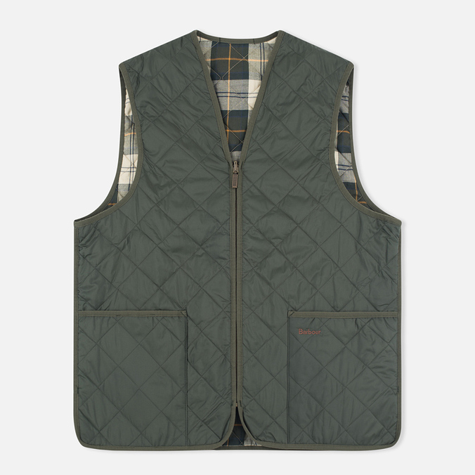 Мужской жилет Barbour Quilted Zip Olive/Ancient