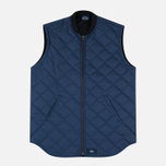 Bleu De Paname Tankiste Canvas PU Men`s Vest Marine photo- 0