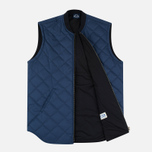 Bleu De Paname Tankiste Canvas PU Men`s Vest Marine photo- 1