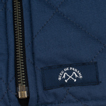 Bleu De Paname Tankiste Canvas PU Men`s Vest Marine photo- 4