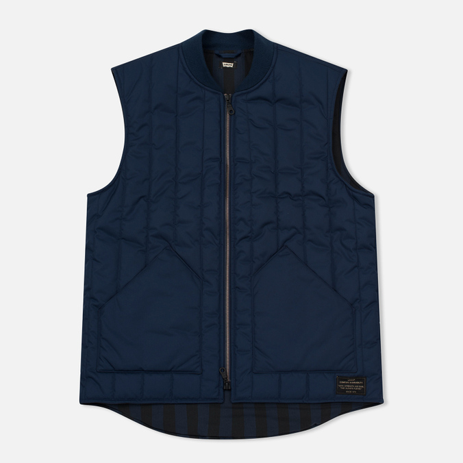 Мужской жилет Levi's Skateboarding Vest Dress Blue