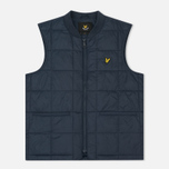 Мужской жилет Lyle & Scott Quilted Navy фото- 0