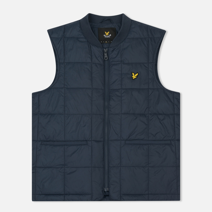 Мужской жилет Lyle & Scott Quilted Navy