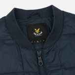 Мужской жилет Lyle & Scott Quilted Navy фото- 2