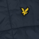 Мужской жилет Lyle & Scott Quilted Navy фото- 3