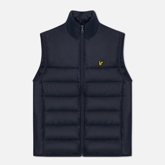 Мужской жилет Lyle & Scott Wadded Dark Navy