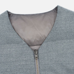 Мужской жилет Nanamica Reversible Down Heather Grey фото- 1