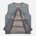 Мужской жилет Nanamica Reversible Down Heather Grey фото- 2