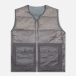 Мужской жилет Nanamica Reversible Down Heather Grey фото- 3
