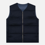 Мужской жилет Nanamica Reversible Down Navy фото- 0