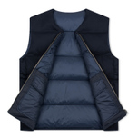 Мужской жилет Nanamica Reversible Down Navy фото- 2