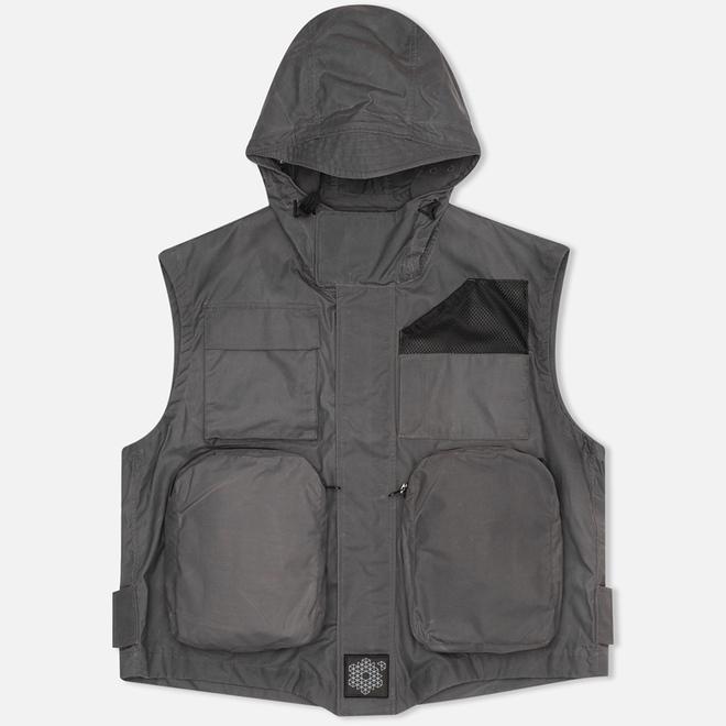 Мужской жилет Plurimus Multipocket Grey