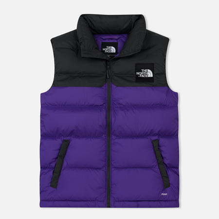 Мужской жилет The North Face 1992 Nuptse Tillandsia Purple/Asphalt Grey