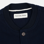 Мужской жилет Universal Works Chore Wool Melton Navy фото- 2