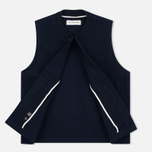 Мужской жилет Universal Works Chore Wool Melton Navy фото- 1