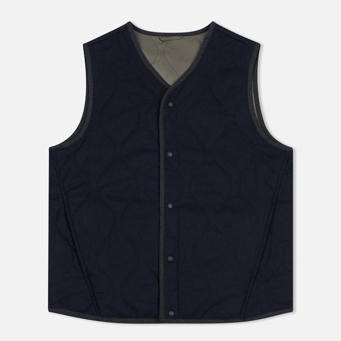Мужской жилет Universal Works Fresh Water Wool/Nylon Navy/Olive