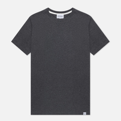 Мужская футболка Norse Projects Niels Standard Charcoal Melange