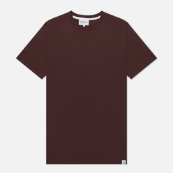 Мужская футболка Norse Projects Niels Standard Eggplant Brown