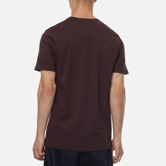 Мужская футболка Norse Projects Niels Standard Eggplant Brown