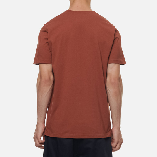 Мужская футболка Norse Projects Niels Standard Madder Brown